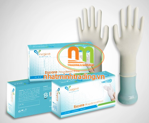 Găng tay cao su tự nhiên không bột