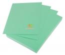 Giấy in màu A4 Hoàng Mai màu xanh Green