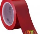 Băng dính (Băng keo) dán sàn 3M 50mm x 33m Đỏ