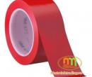 Băng dính (Băng keo) dán sàn Đỏ 5cm.20Y