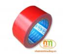 Băng dính (Băng keo) vải 5cm.10m Đỏ