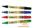 Bút lông dầu (dạ dầu) Artline 70 đỏ