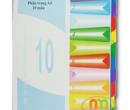 Chia file (Phân trang) nhựa 10 màu A4