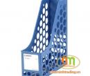 File vát 1 ngăn nhựa Comix mầu xanh Blue (A1083)