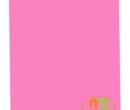 Giấy in màu A4 Indo màu hồng