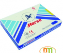 Hộp dấu số 2 Horse màu xanh