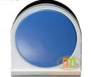 Kẹp inox gắn nam châm Plus to xanh Blue