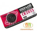 Pin cúc Maxell CR2025 loại 3V