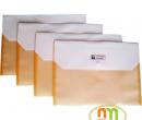 Túi myclear A4 Hyphen 2 ngăn lắp vuông (HP023)