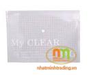 Túi myclear A4 mỏng (túi cúc bấm)