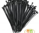 Dây thít (rút) nhựa 200mm (500chiếc/Túi) màu đen