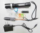 Đèn pin thép đen Trung Quốc CREE LED