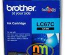 Mực in phun Brother LC67C (385/585/6690) màu xanh