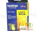 Mực in phun Brother LC67Y (385/585/6690) màu vàng