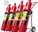 Nạp bình chữa cháy xe đẩy MT24