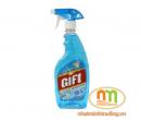 Nước lau kính Gift 580ml Sắc biển (24chai/thùng)