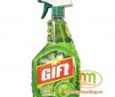 Nước lau kính Gift 800ml Trà xanh (12chai/thùng)