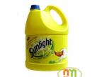 Nước rửa chén Sunlight can 4L chanh