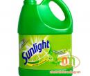 Nước rửa chén Sunlight can 4L trà xanh