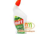 Nước tẩy vệ sinh Gift 600ml hương Bạc Hà
