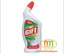 Nước tẩy vệ sinh Gift 700ml hương Bạc Hà
