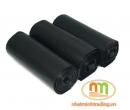 Túi rác cuộn đặc đại màu đen Hoàng Nguyên