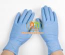 Găng tay cao su Nitrile không bột