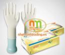 Găng tay cao su tự nhiên có bột