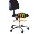 Ghế chống tĩnh điện có tựa Màu: Đen