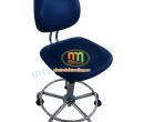 Ghế có tựa màu xanh Hàn Quốc chống tĩnh điện